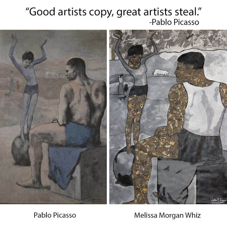 """Picasso Remix"" by Morgan Whiz"