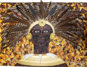 """King Shaka Zulu"" by Melissa Morgan Whiz"