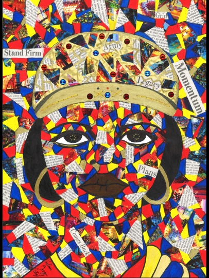 """Queen-Nzinga"" by Melissa Morgan Whiz"