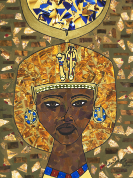 """Queen Tiye"" by Melissa Morgan Whiz"
