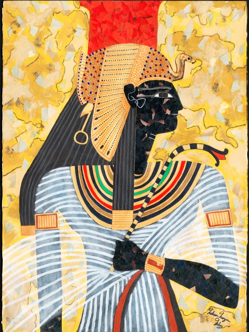 """Queen Nefertari"" by Melissa Morgan Whiz"